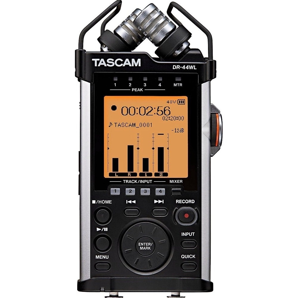 pitbull audio tascam dr 44wl handheld recorder with audio technica at831b lav mic and 25 ft xlr. Black Bedroom Furniture Sets. Home Design Ideas